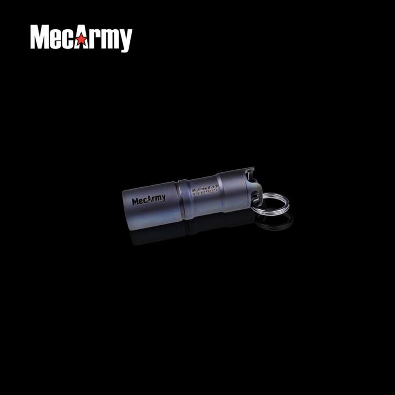 high lumen light key chain mecarmy illuminex 1 titanium usb rechargeable keychain light xp g2