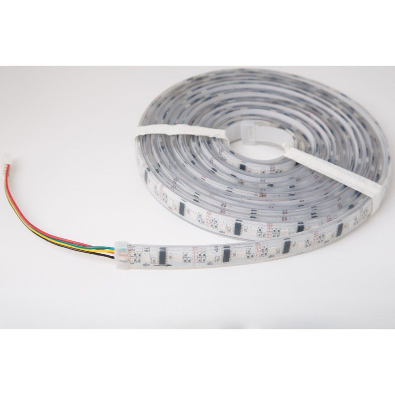 pixelpusher lpd8806 rgb led strip ip68 encapsulated pixelpusher led strips. Black Bedroom Furniture Sets. Home Design Ideas