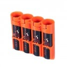 PowerPax 18650 Battery Caddy (Orange)