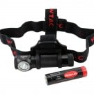Wowtac A2 550 Lumens XP-G2 Cool White Headlamp (included 18650 2600mAh battery with built-in micro USB charge port)