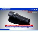Jetbeam C8 XM-L2 1000 Lumens + 18650 2400mAh Protected Li-ion Battery