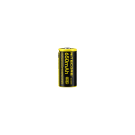 16340 Nitecore NL1665R 650 mAh Protected Button Top (Micro-USB Charge Port)
