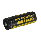 18490 Nitecore NL18490A 1100mAh High Discharge Button Top
