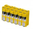 PowerPax 12AA Pack Battery Caddy  (Yellow)