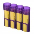 PowerPax 18650 Battery Caddy (Purple)