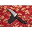Ban Tang SAF Pikal Black G10 (Belt Sheath)