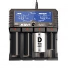 Xtar Dragon VP4 Plus Li-ion/NiMH/11.1V 3S Charger and Battery Analyzer