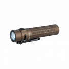 Olight Warrior Mini 1500 Lumens Magnetic Base Rechargeable Tactical Flashlight (Desert Tan)